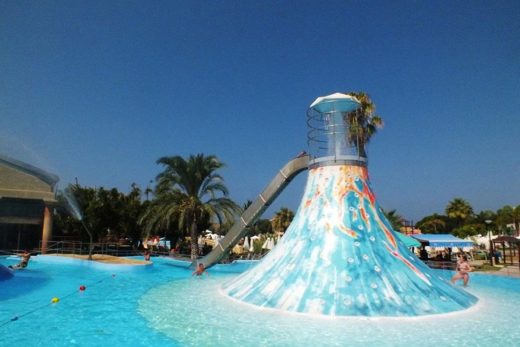Aphrodite Waterpark in Yeroskipou