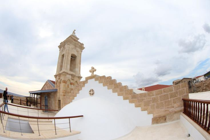 Apostolos Andreas monastery repairs from lightning to start soon
