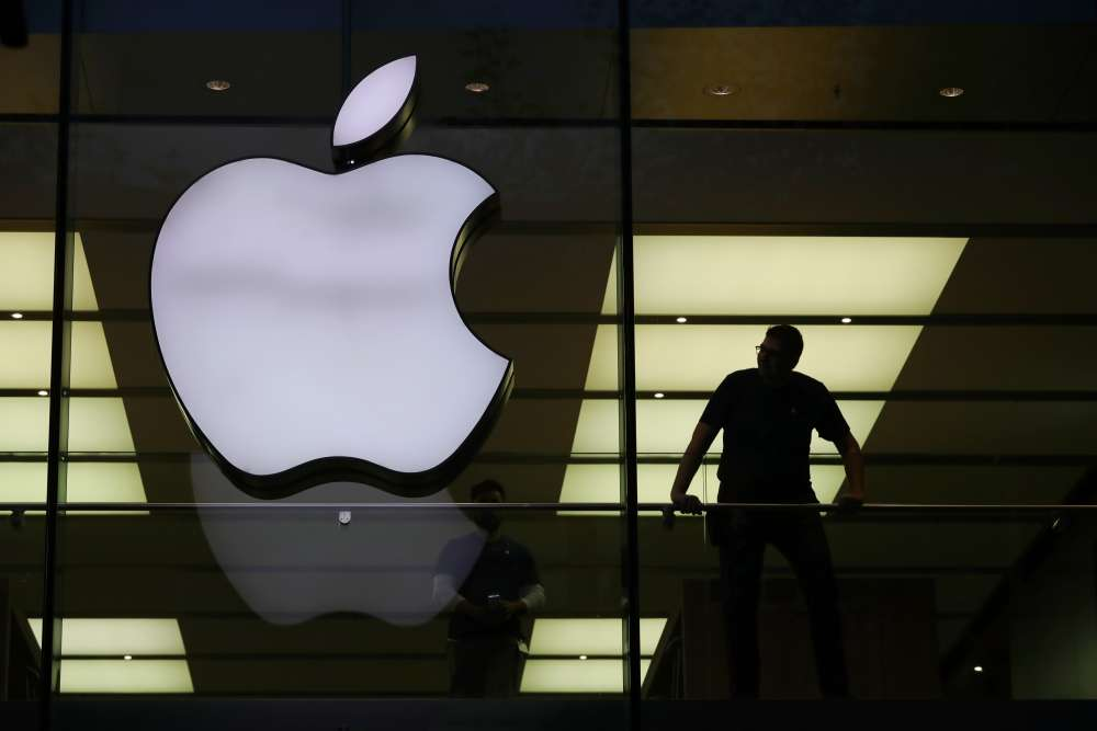 Wall St propped up by Apple