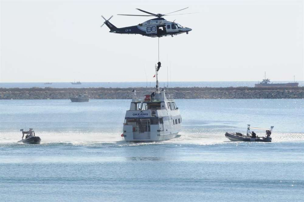 Over 40 countries in 'Argonaut' search & rescue exercise