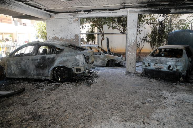 Fire in Limassol couple's cars