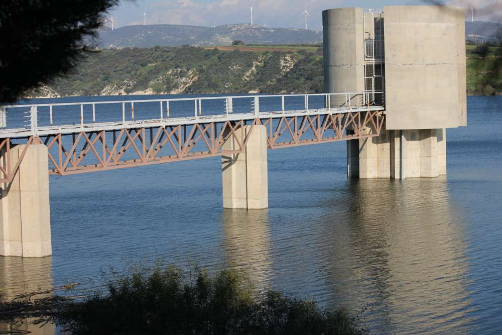 Paphos: Water levels in dams drop after scorching summer