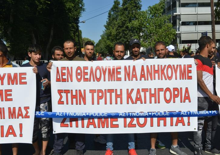 Asylum seekers protest for right to work; EU asylum agency sets up Cyprus office