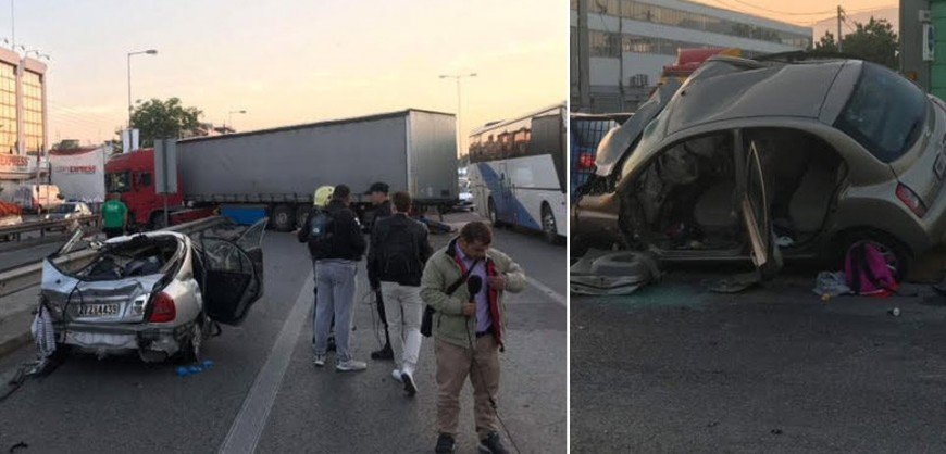 Shocking video of the tragic accident in Athens (VIDEO)