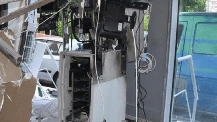 Car crashed into Paphos ATM in apparent robbery attempt