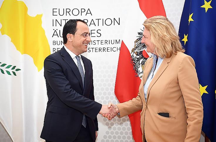 FM discusses Austrian EU Presidency