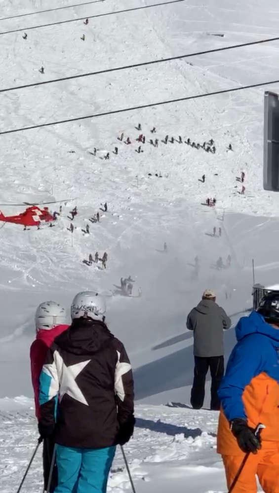 Avalanches hit Austrian