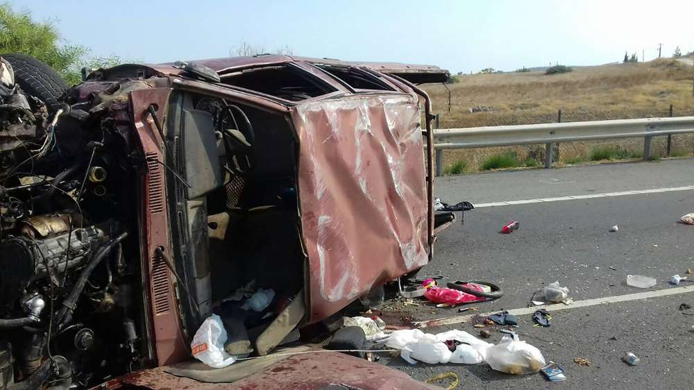 Five year old killed in road accident on Larnaca-Famagusta highway