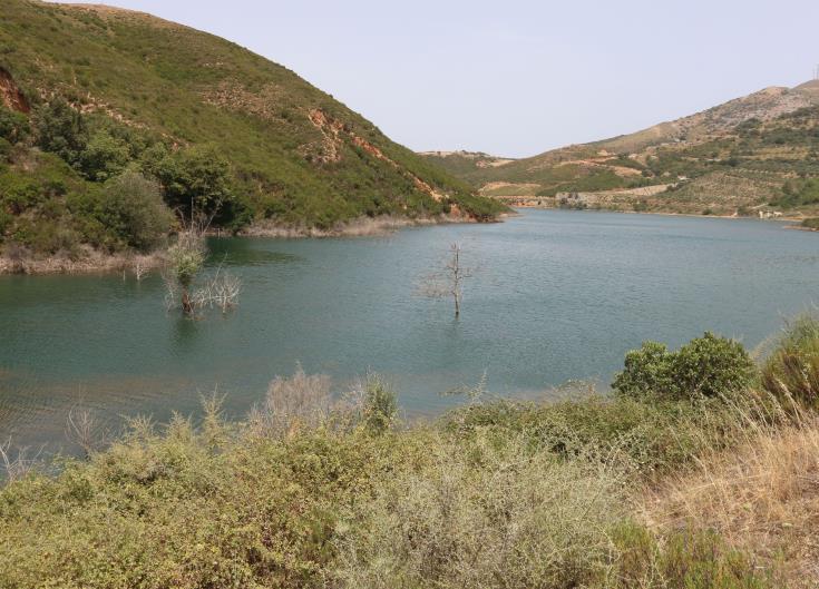 Ayia Marina Chrysochous Dam overflows