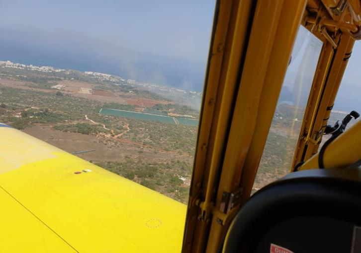 Fire between Ayia Napa and Protaras quickly contained
