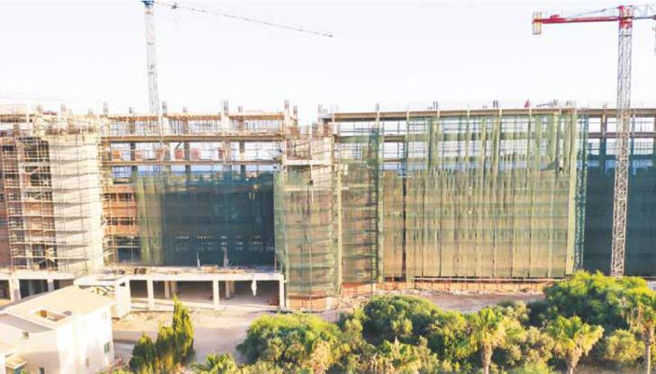 Ayia Napa: Illegal storeys at new hotel being demolished