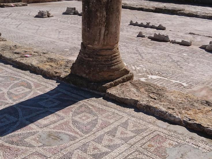 Ayia Triada mosaics restored