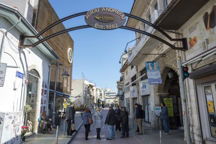 Revamp of Limassol's Ayios Andreas street