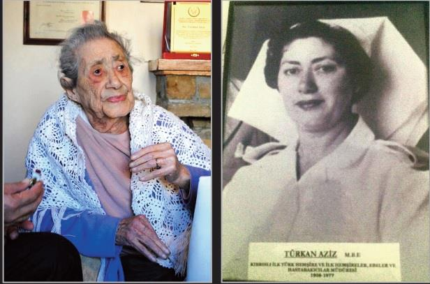 First Turkish Cypriot head nurse dies at 102