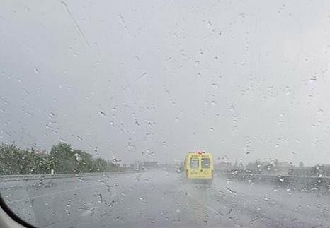 Police warn of heavy rain