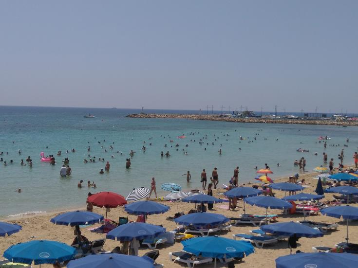 Cyprus sets new tourist record in July