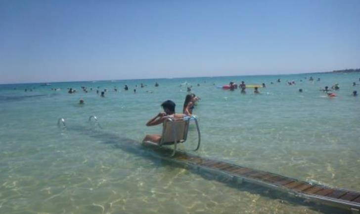 27 beaches fully accessible to disabled