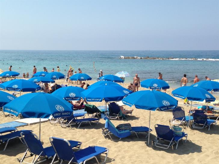 160 organized beaches around Cyprus