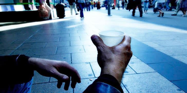 Sham beggars in Paphos