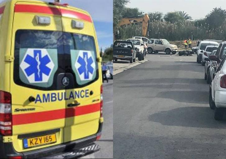 Larnaca: Another road accident involving biker