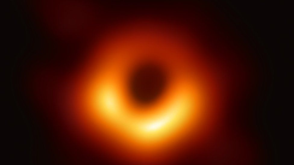 First-ever image of black hole released