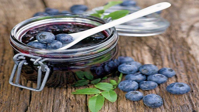 Blueberry marmalade