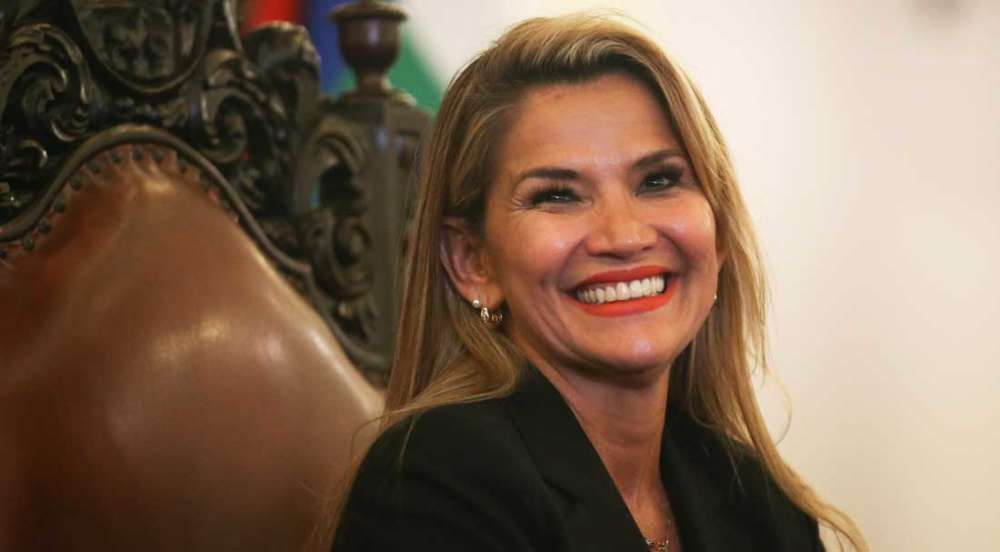 U.S. Secretary of State Pompeo congratulates Bolivia's interim president