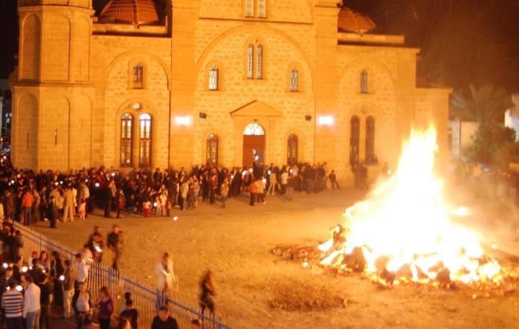 Limassol police arrest 27 youth for lighting bonfires