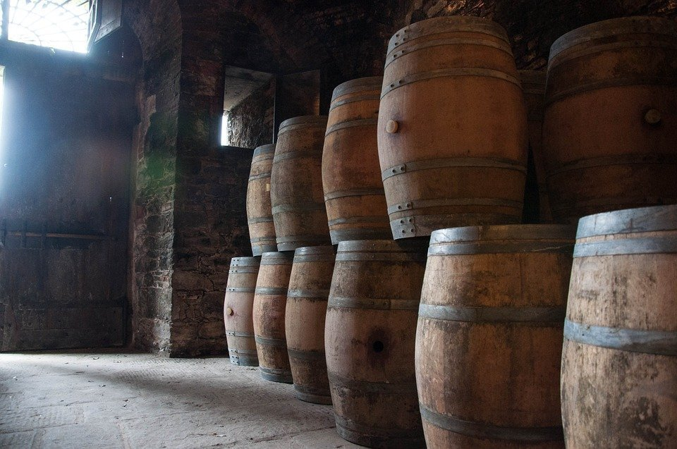 Botti, Cellar, Wine, Ancient, Tuscany, Italy