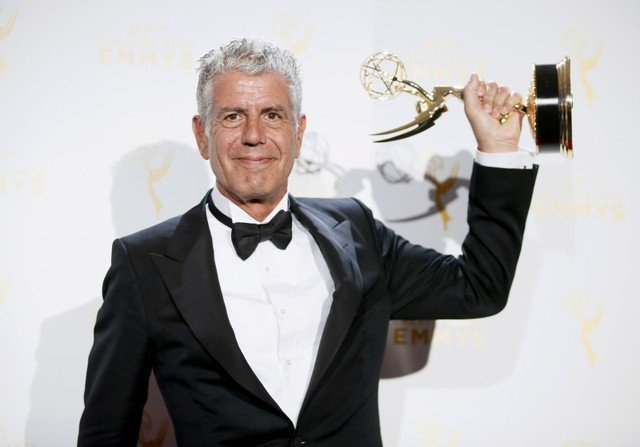 US celebrity chef and TV host AnthonyBourdain dead at 61