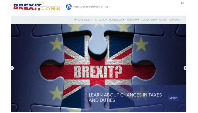 PIO launches Brexit information website for UK nationals in Cyprus and Cypriots in UK