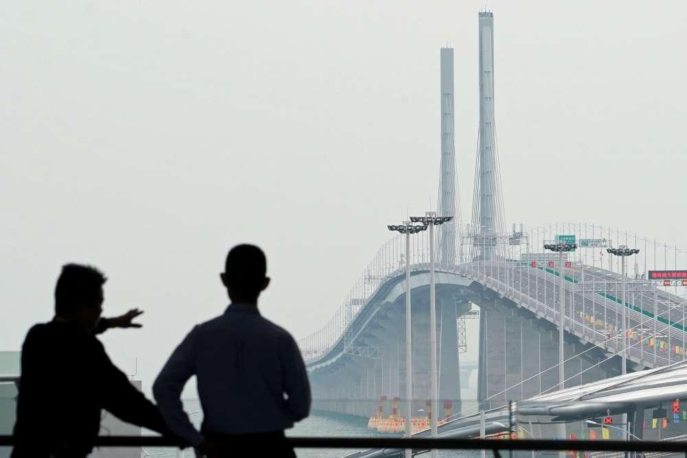 World's longest sea bridge opens today