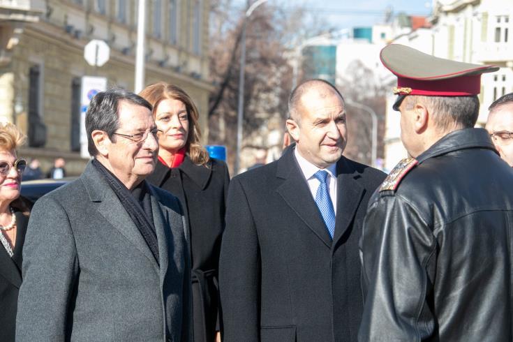 Cyprus President visits Bulgaria