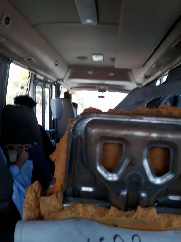 'Open door' service on Zenon bus (photos and video)