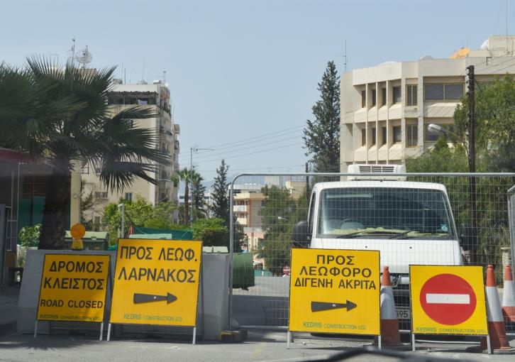Plans for construction of median strip in Nicosia may be abandoned