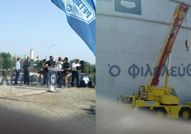 First oil tank to be dismantled in Larnaca today