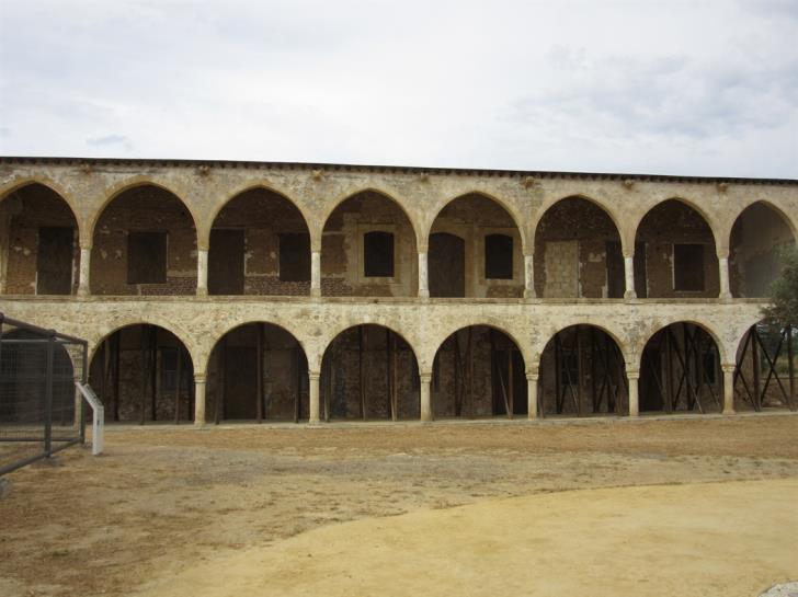 Agios Panteleimonas monastery and church in occupied Myrtou vandalised