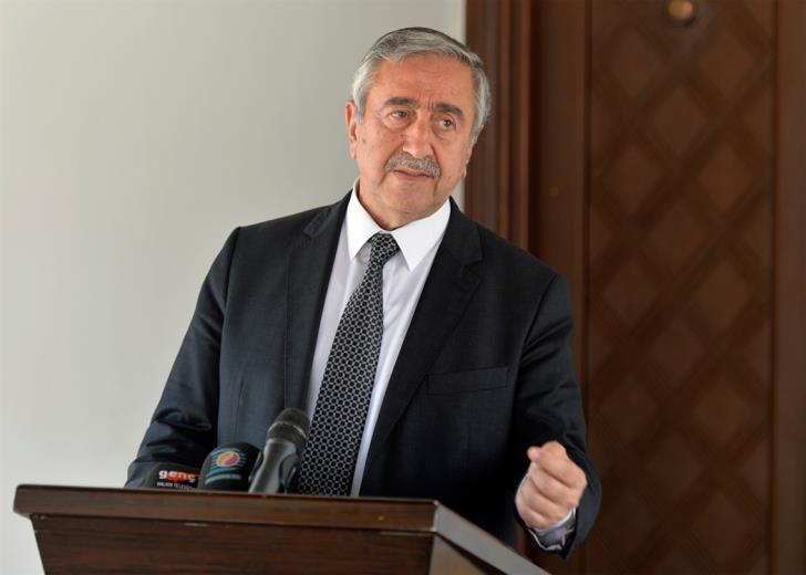 Akinci insists on veto and rotating presidency