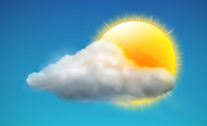 The weather this weekend: Clouds