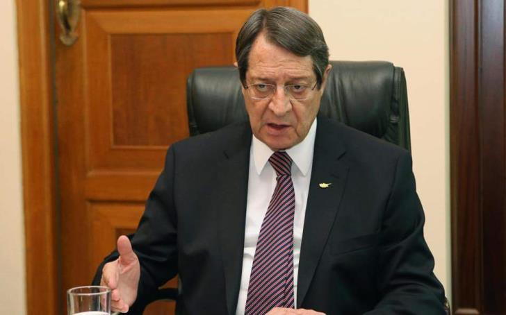President Anastasiades: Akinci should declare his position on the Guterres Framework