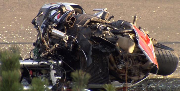 New motorcycle accident leaves 34-year-old man seriously injured