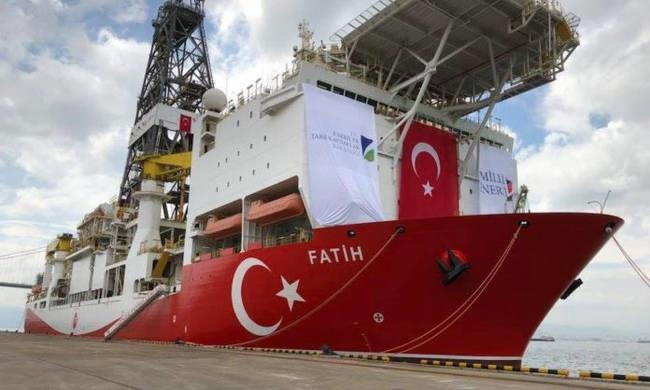 Turkey's first deep-sea drill 100 km from Akamas