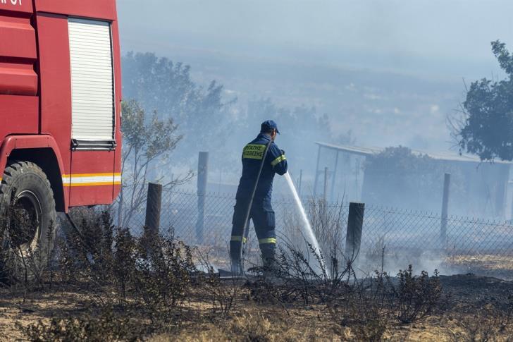 Three under arrest for Ypsonas fire