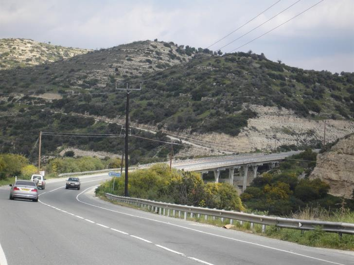 Construction of new road to Limassol's mountainous areas to begin soon