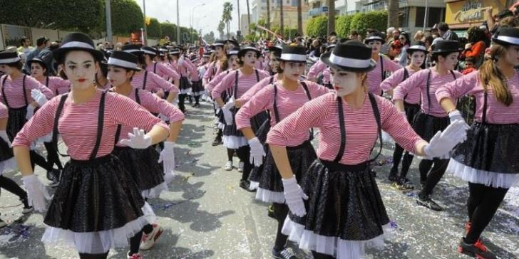 Which Limassol roads will be closed during the carnival?