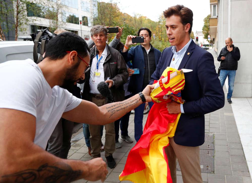 Spain jails Catalan separatist leaders