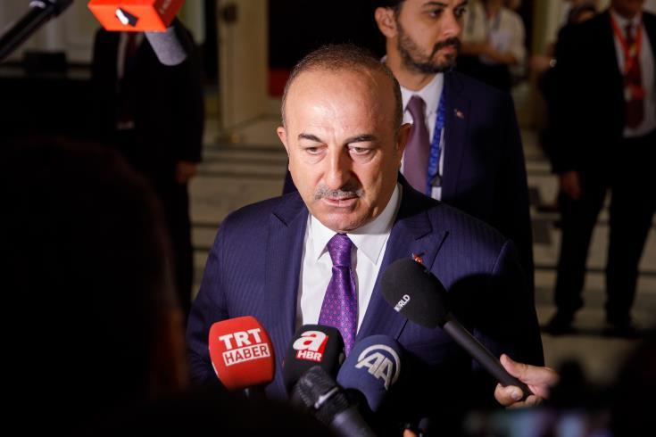Turkish FM sends letter to UN