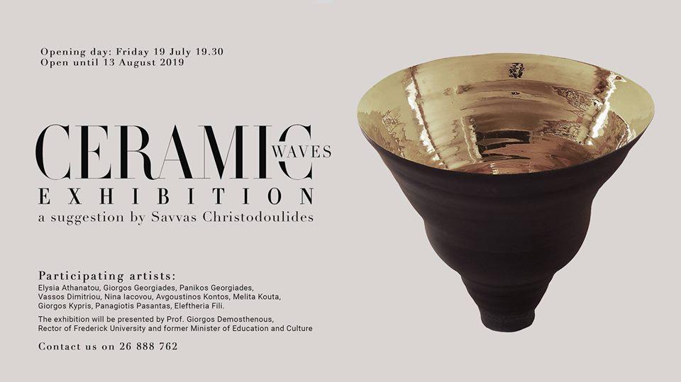Ceramic Waves Exhibition at Almyra