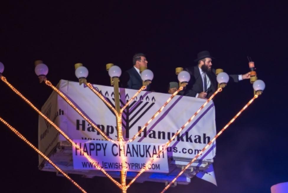 Chanukah 2019 starts at Finikoudes
