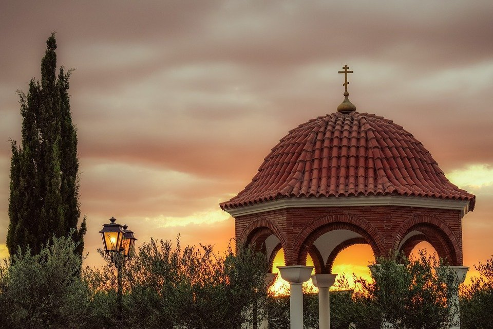 Chapel, Religion, Architecture, Christianity, Sky